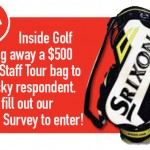 Reader Survey: Win a $500 Srixon Staff Bag