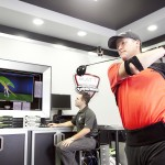 PGA Professional Marcus Fraser at the TaylorMade Performance Lab