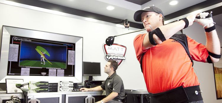 Inside the new TaylorMade Performance Lab