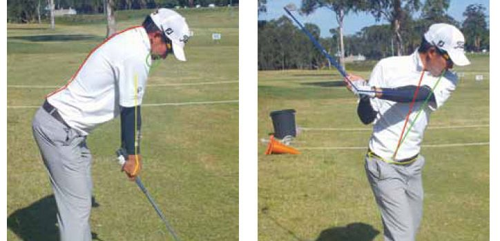 Common golf swing faults