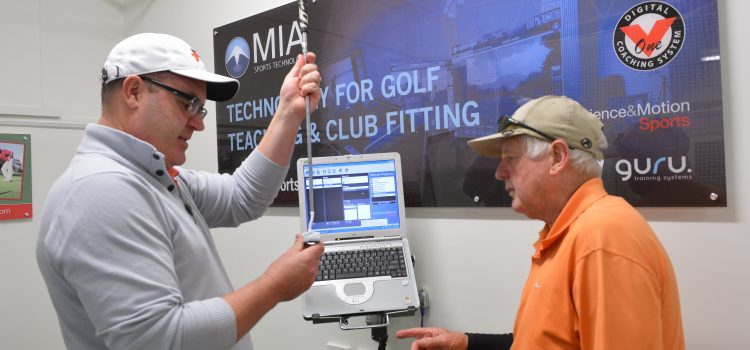 New golf technology and clubfitting studio a real game changer