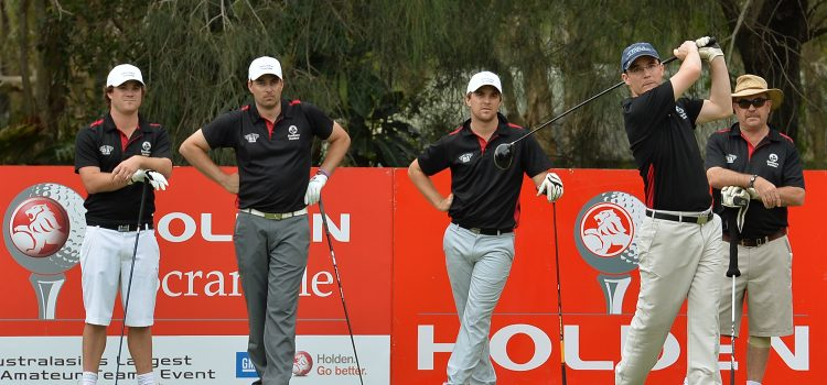 Holden Scramble Finals draw near