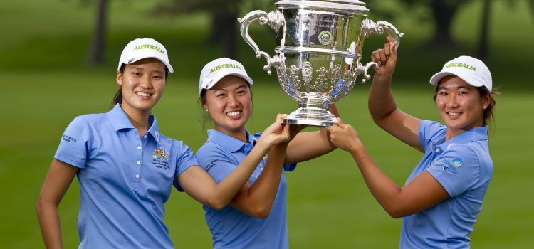 Aussies win Women's World Amateur