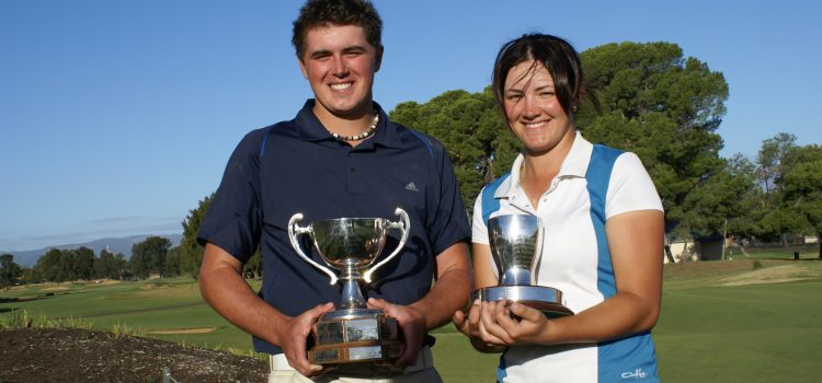 Moules and King win South Australia Amateur Championships