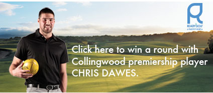 Win a round at Moonah Links with Collingwood Premiership player Chris Dawes