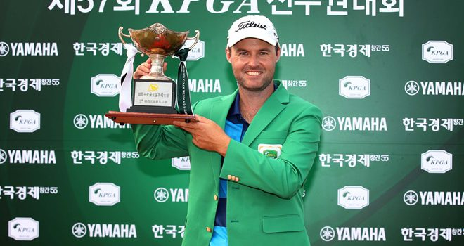 Griffin reigns in Korea; looks ahead to Fiji