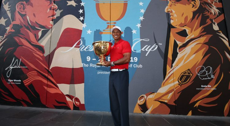 Tiger Woods tours Melbourne in Presidents Cup prep
