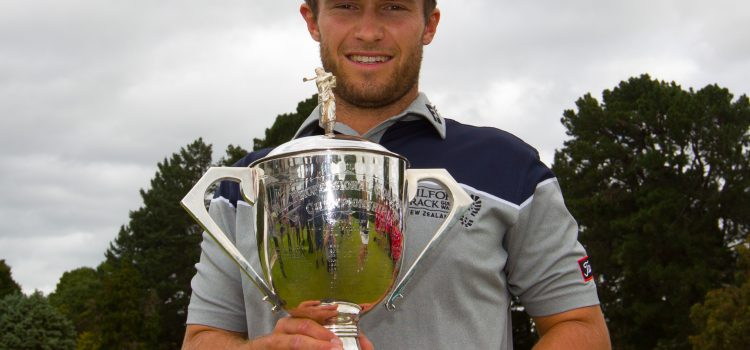 Campbell captures NZ PGA Championship.