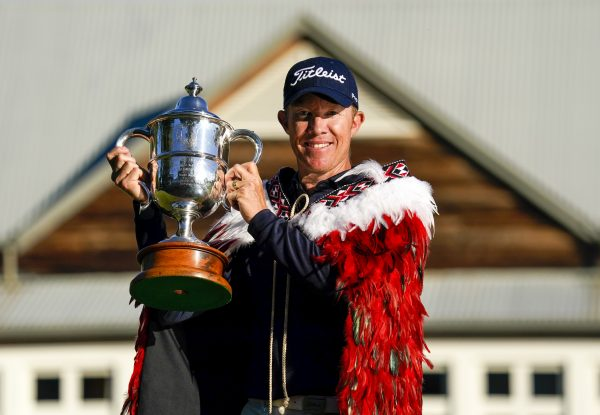 Australian Kennedy bags second New Zealand Open title