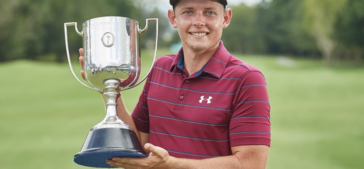 Smith grinds to Australian PGA Championship victory