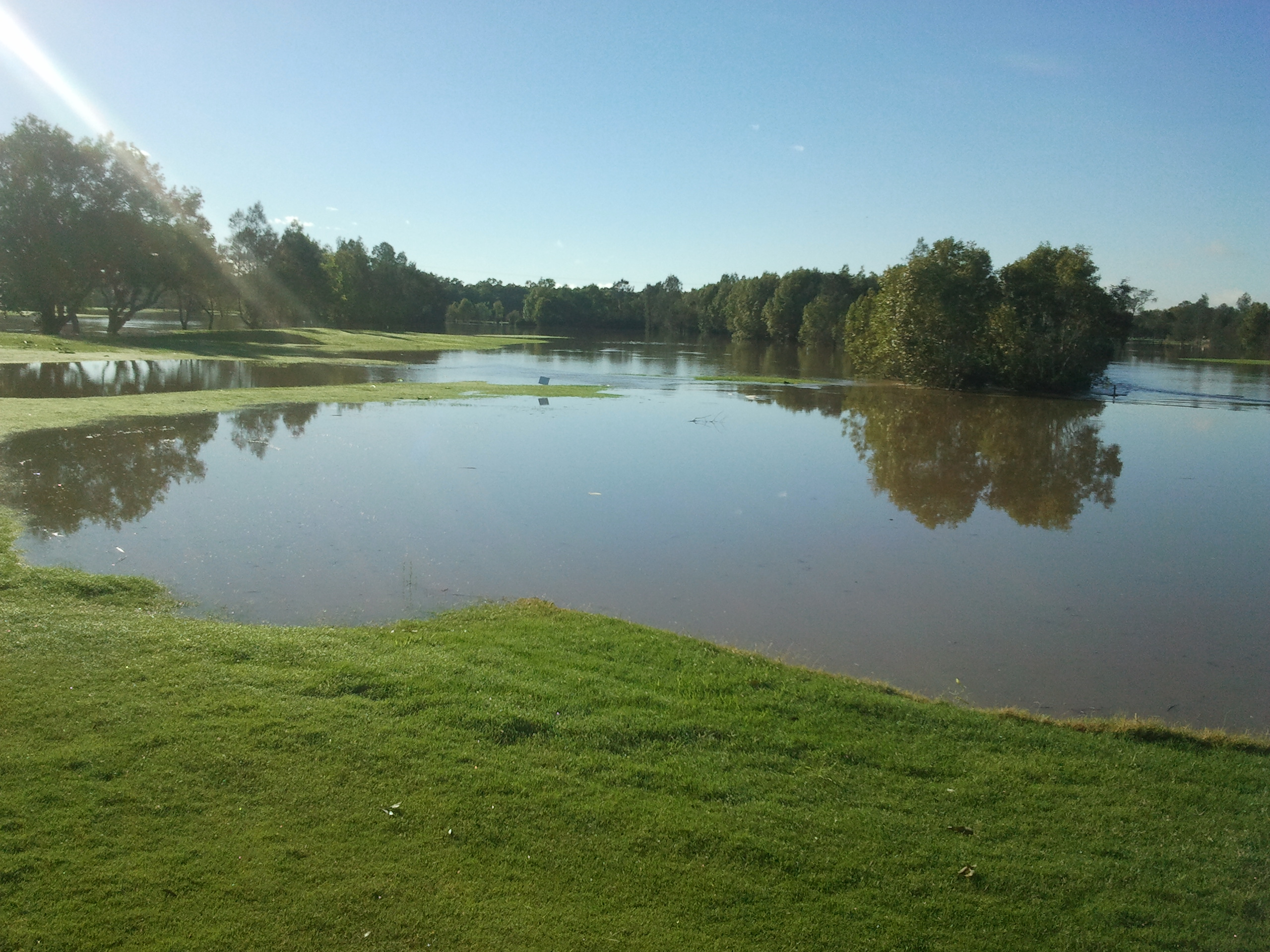 Carbrook's 9th fairway