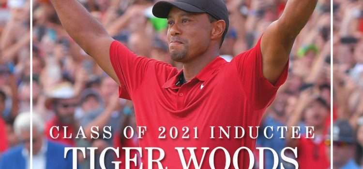 World Golf Hall of Fame to Induct Tiger Woods in Class of 2021