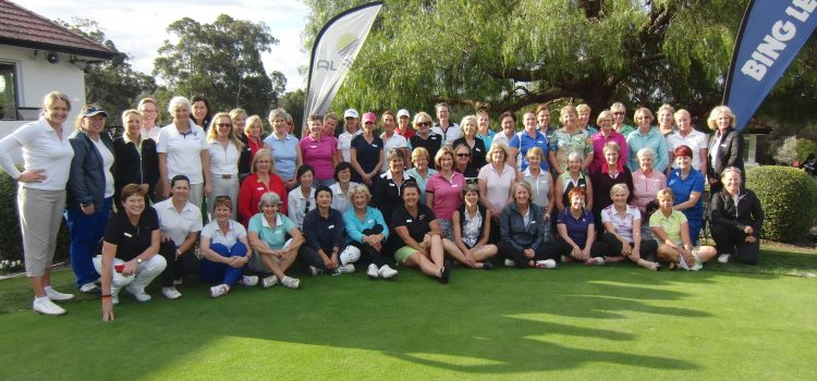 ALPG celebrate Golf Month with three Victorian ALPG National Women's Clinics
