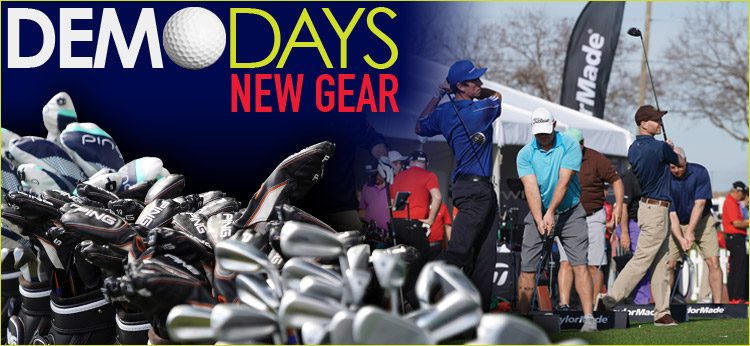 June – July 2020 – Partial list of Golf Gear Demo Dates
