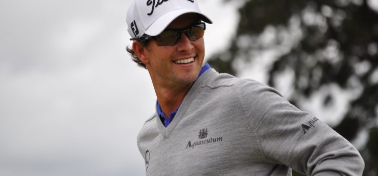 Adam Scott: creature of habit
