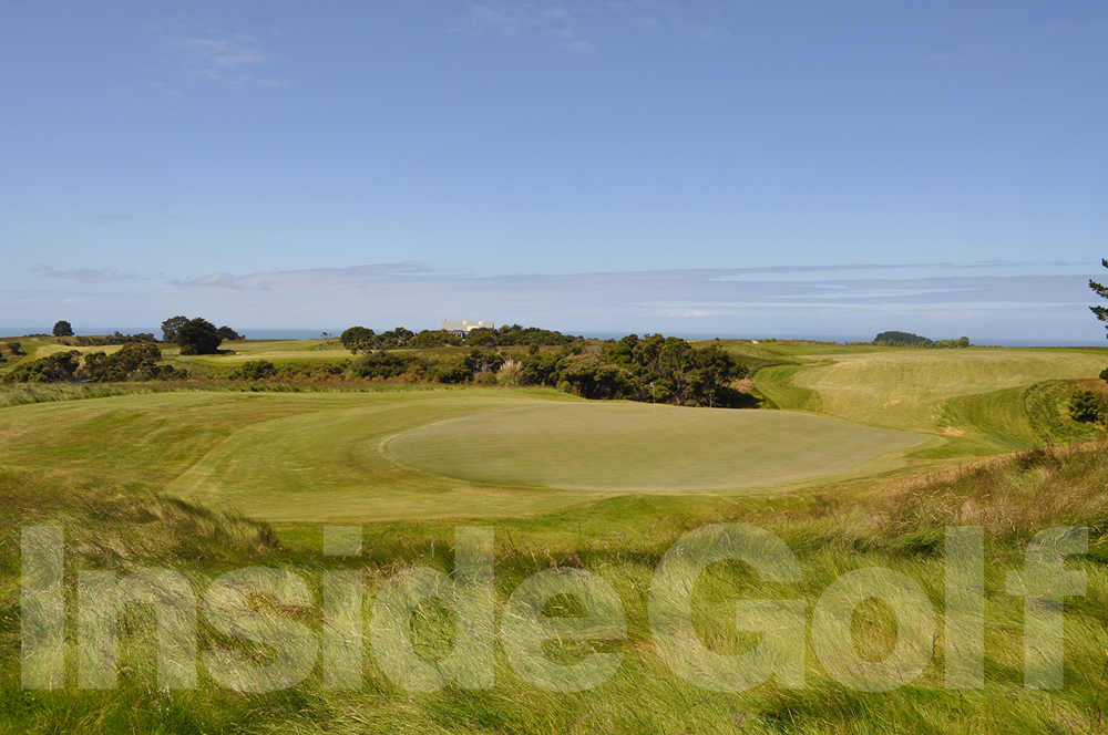 Cape Kidnappers 1st green (looking back)