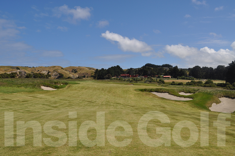 Cape Kidnappers 2nd fairway
