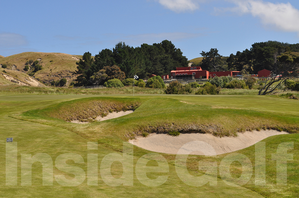 Cape Kidnappers 2nd green