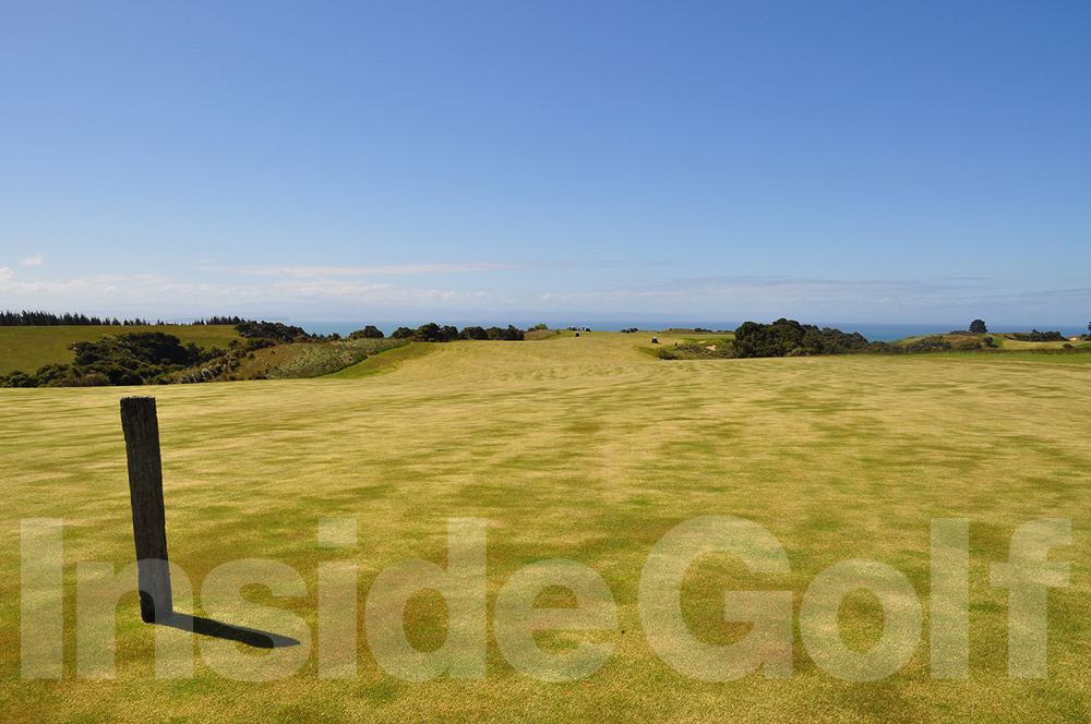 Cape Kidnappers 4th fairway