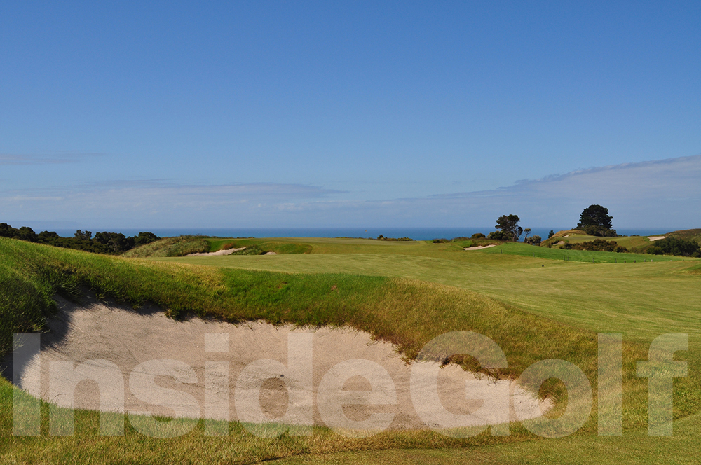 Cape Kidnappers 5th fairway