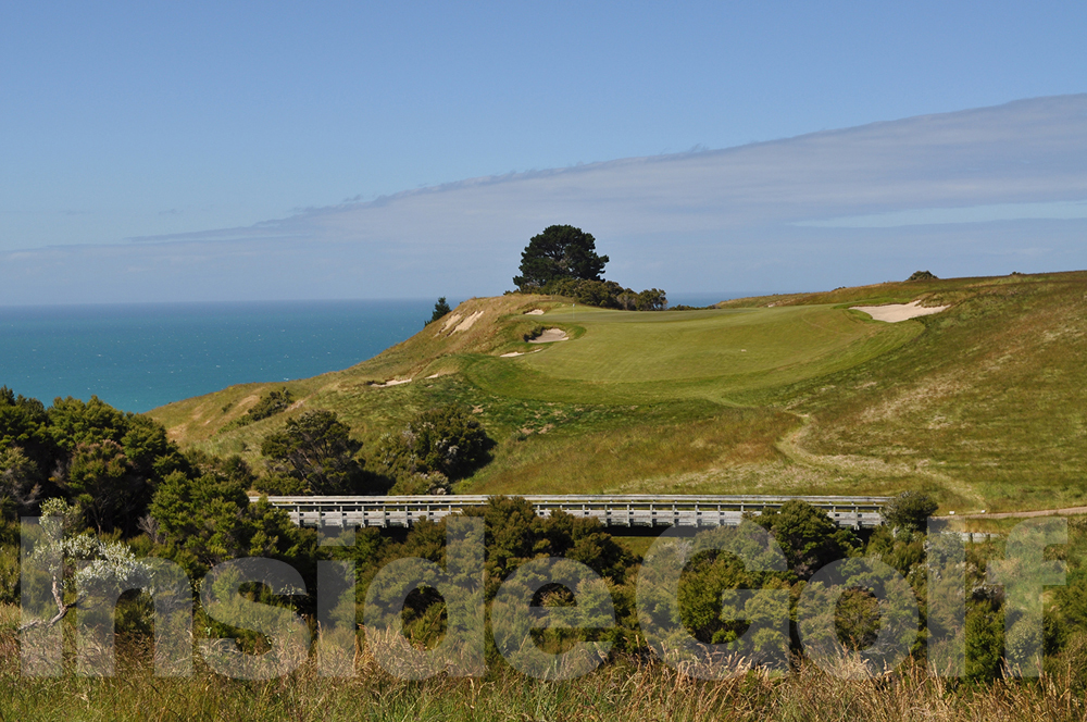 Cape Kidnappers 6th  tee