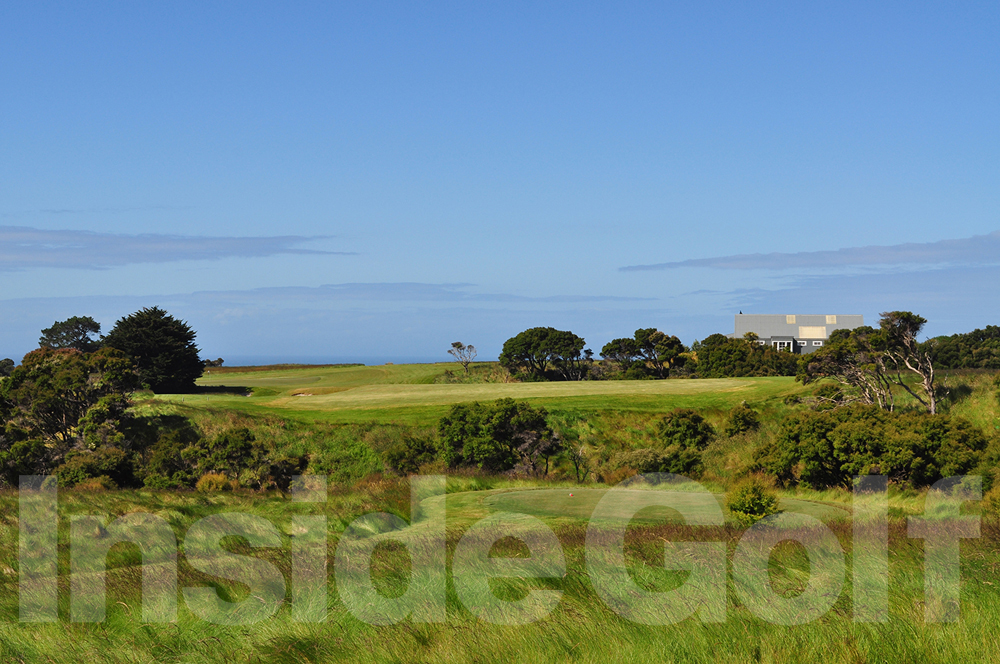 Cape Kidnappers 9th  tee