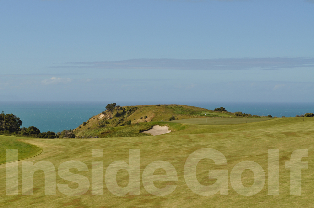 Cape Kidnappers 10th fairway