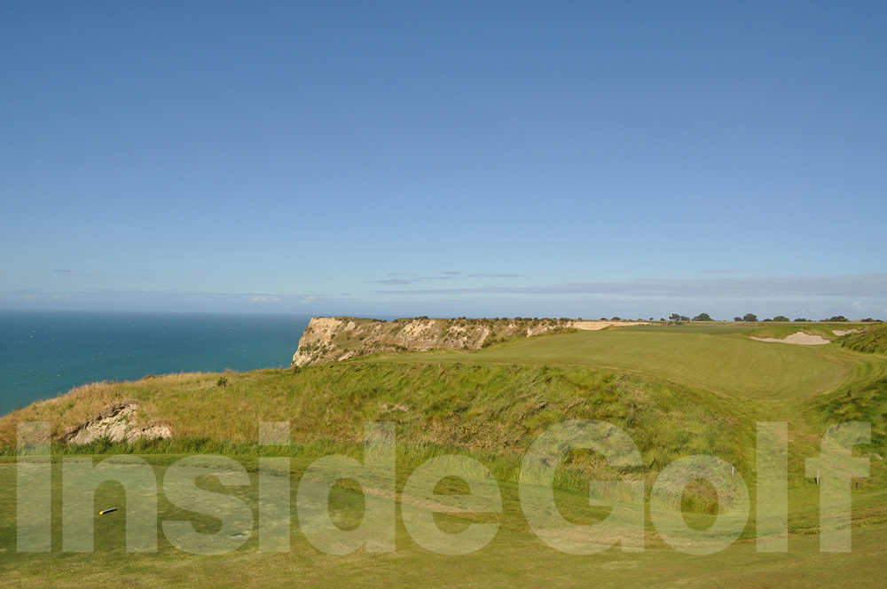 Cape Kidnappers 13th  tee