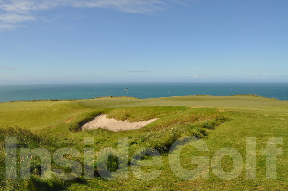 Cape Kidnappers 13th green