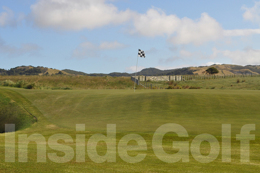 Cape Kidnappers 14th green
