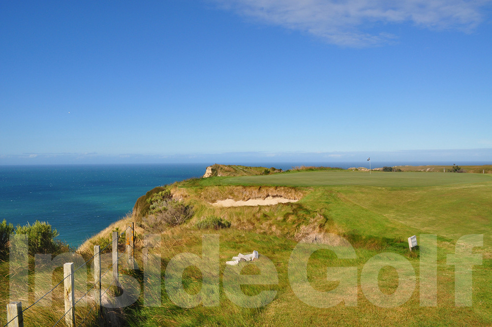 Cape Kidnappers 15th green