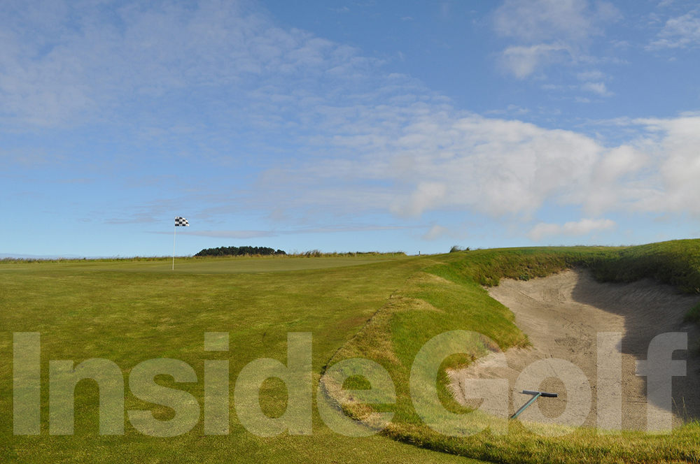 Cape Kidnappers 16th green
