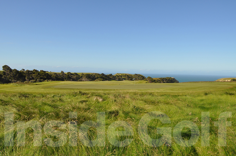Cape Kidnappers 16th green back 2
