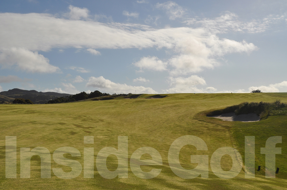 Cape Kidnappers 17th fairway