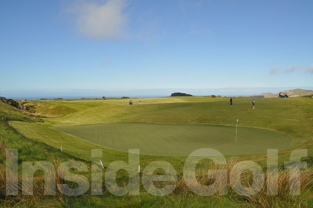Cape Kidnappers 18th green