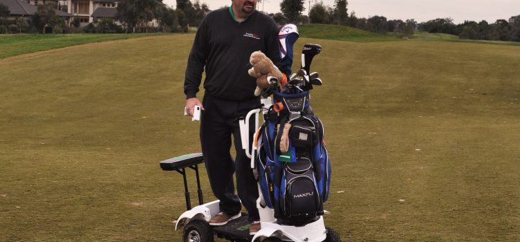 We tried it: Surfing the turf with the Golf Skate Caddy