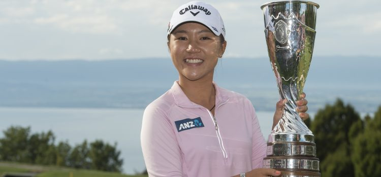 Ko makes history with Evian victory