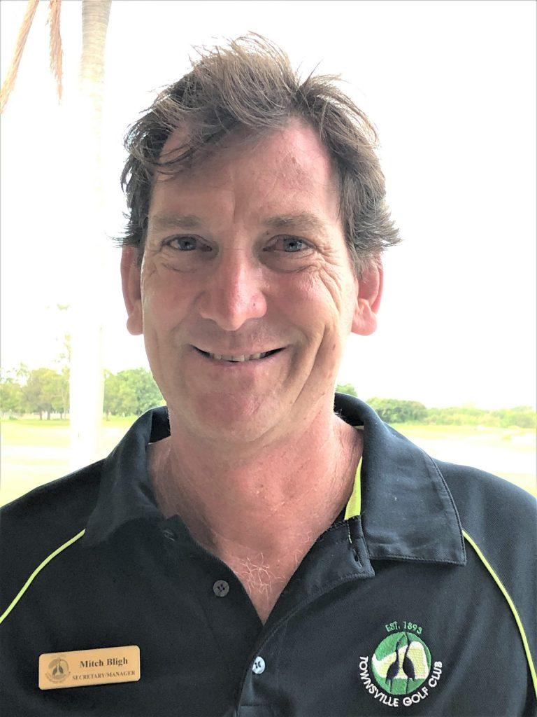 Townsville Golf Club general manager Mitch Bligh