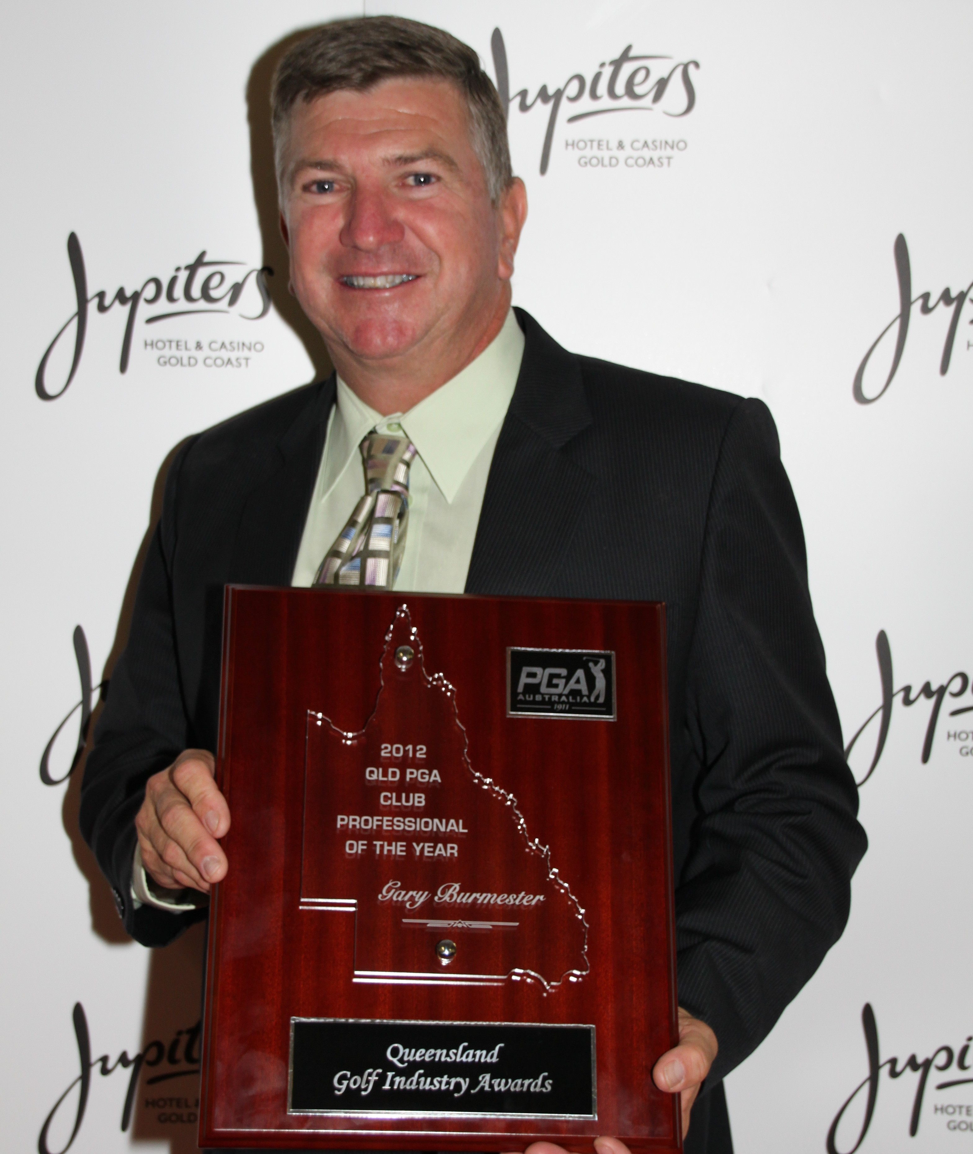 Gary Burmester – Club Professional of the Year