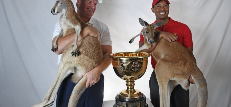 Woods, Els named 2019 Presidents Cup Captains