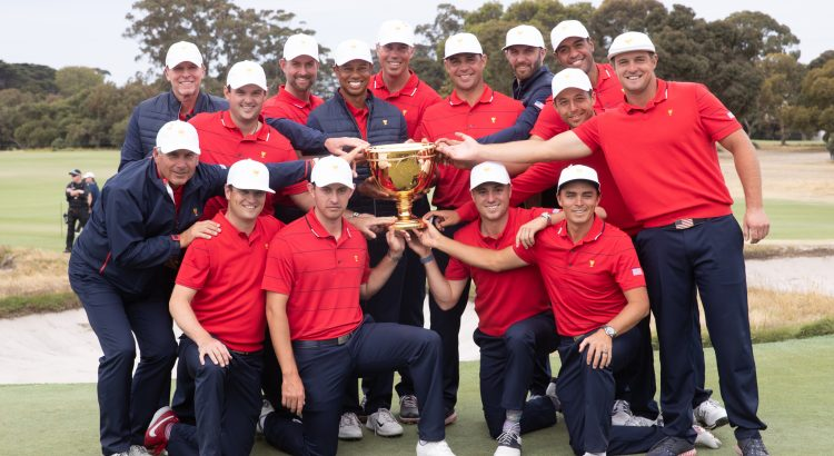 Woods leads United States to thrilling Presidents Cup win