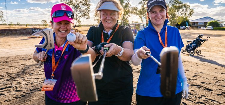 Tee off at the Outback Queensland Masters with TT Golf