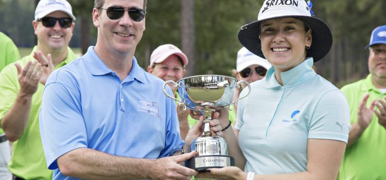 Hannah Green wins in USA, clinches LPGA spot