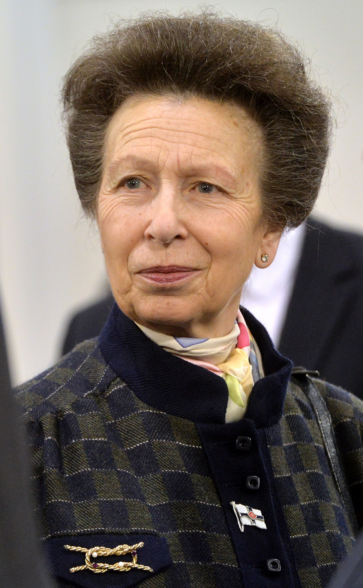 Princess Anne Attends The London Boat Show