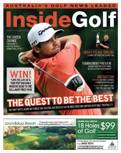 Survey names Inside Golf as Australia's top golf magazine