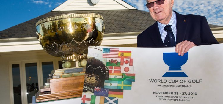 World Cup of Golf tickets now available