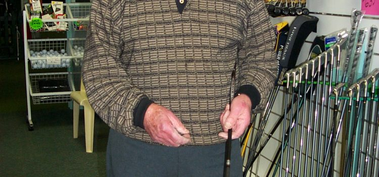 Golf farewells legend Jack Harris