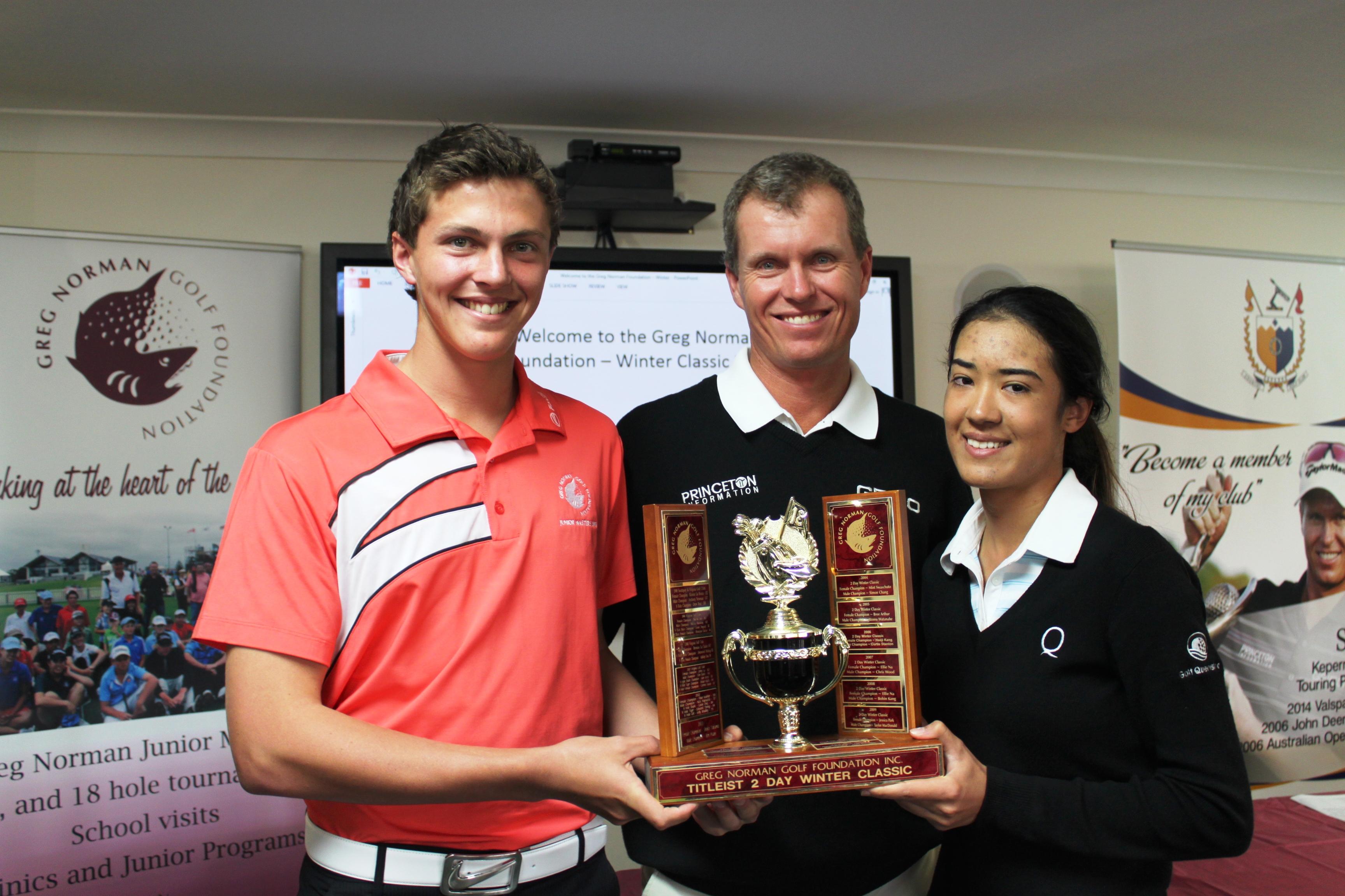 John Senden and winners