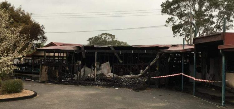 Members take a hit in Keysborough GC fire