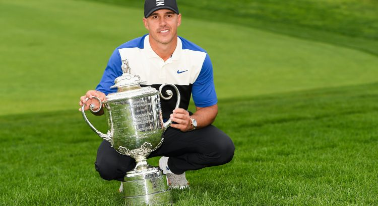 Brooks the best at Bethpage, makes history with PGA Championship victory